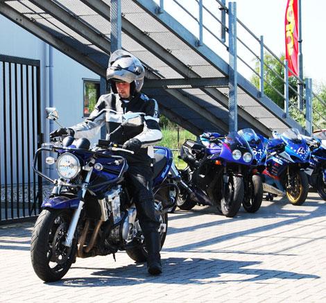 Voorbeelden van motorrijles in Groningen.